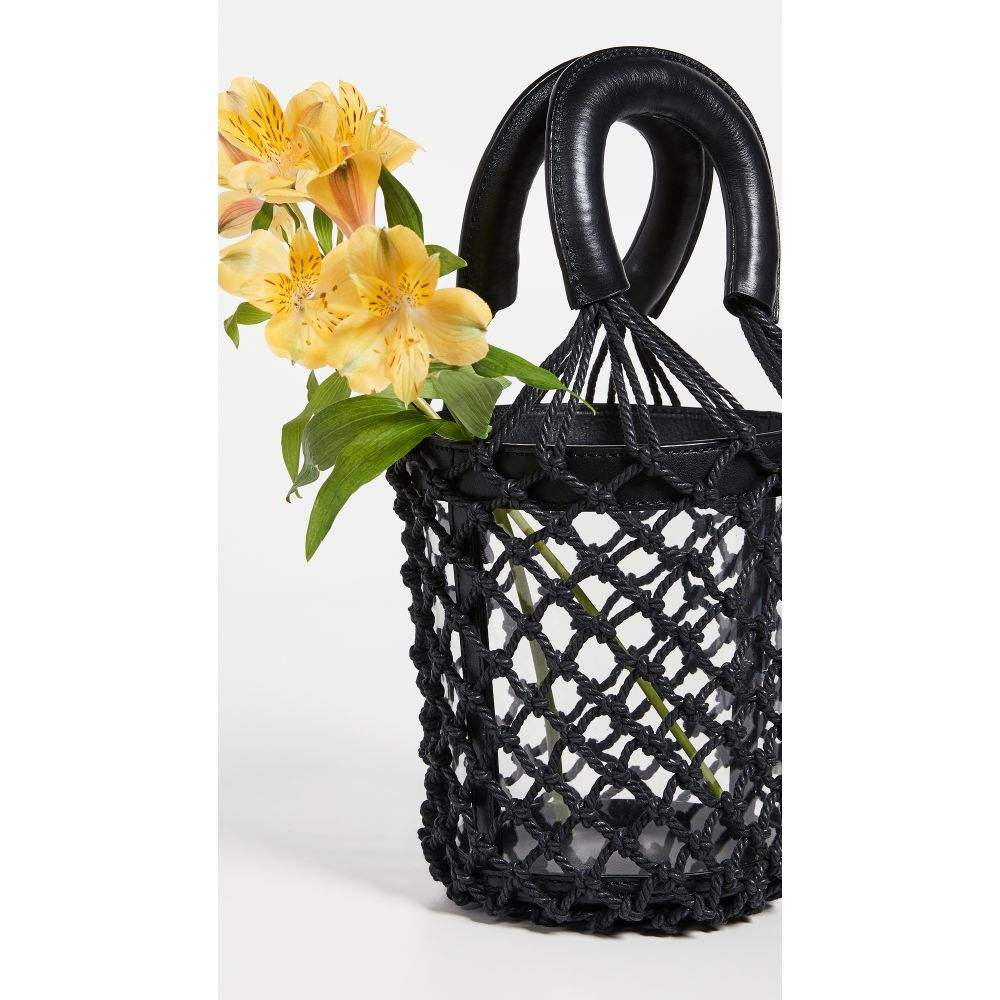 スタッド STAUD レディース バッグ【Clear Moreau Bag】Clear/Black/Black