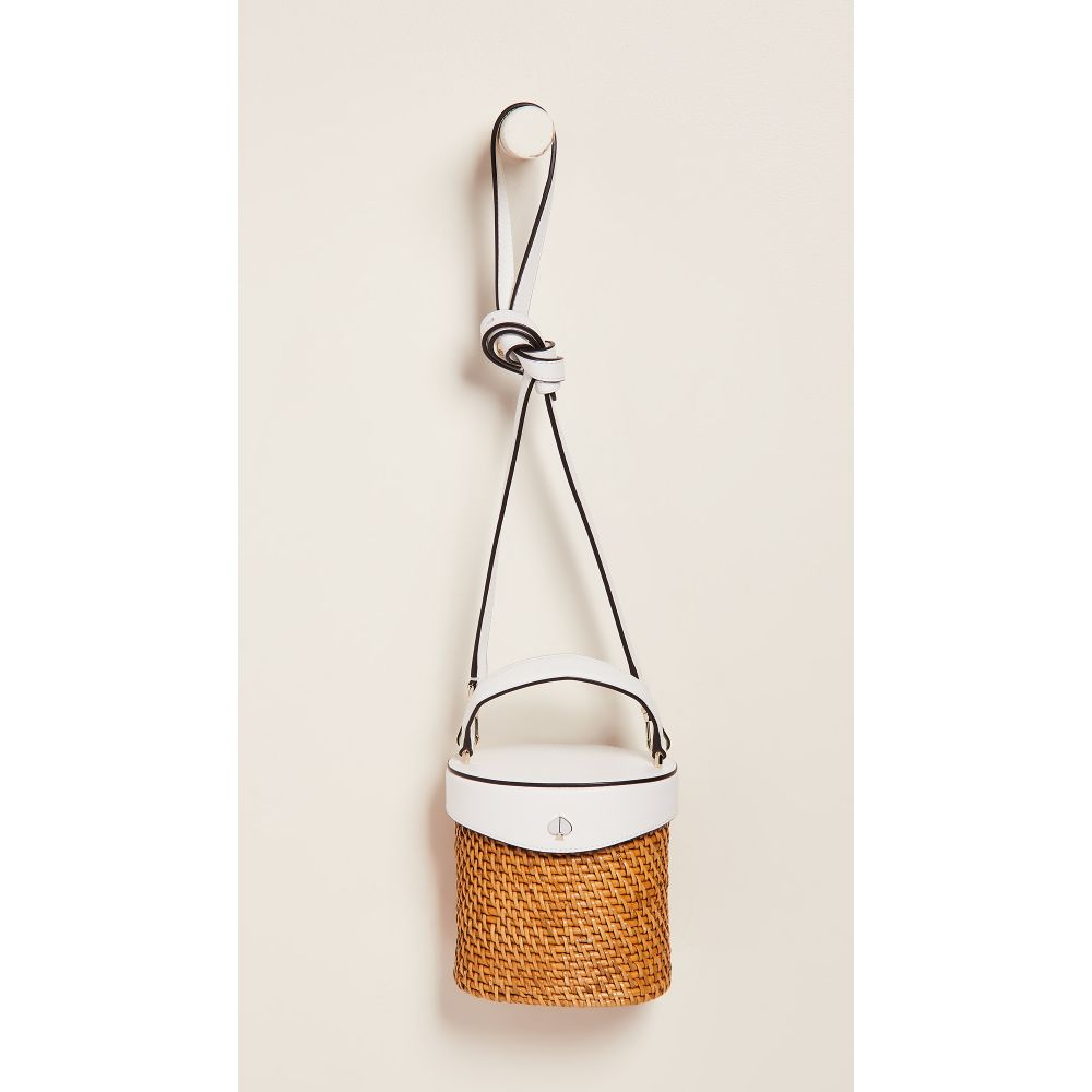 ケイト スペード Kate Spade New York レディース バッグ【Rose Mini Bucket Bag】Optic White
