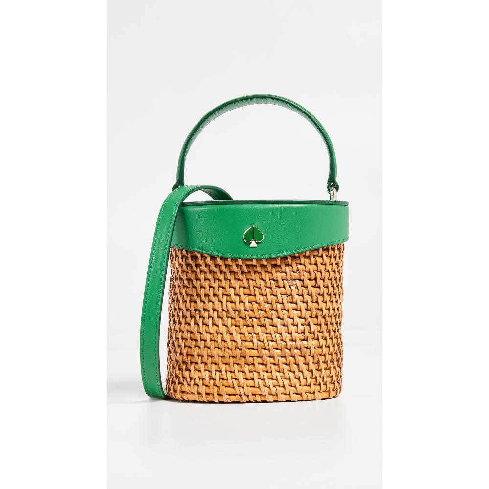 ケイト スペード Kate Spade New York レディース バッグ【Rose Mini Bucket Bag】Green Bean