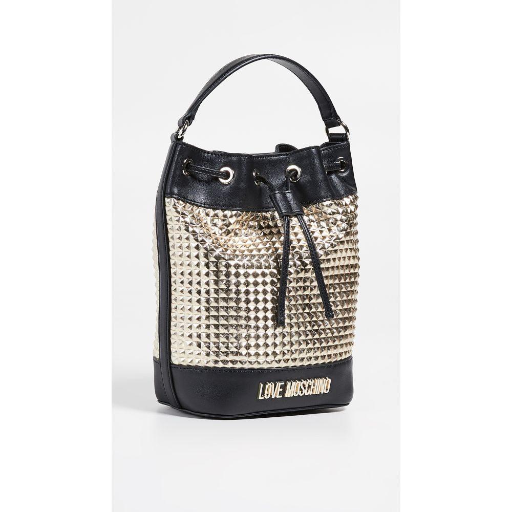 モスキーノ Moschino レディース バッグ【Bucket Bag】Black/Gold