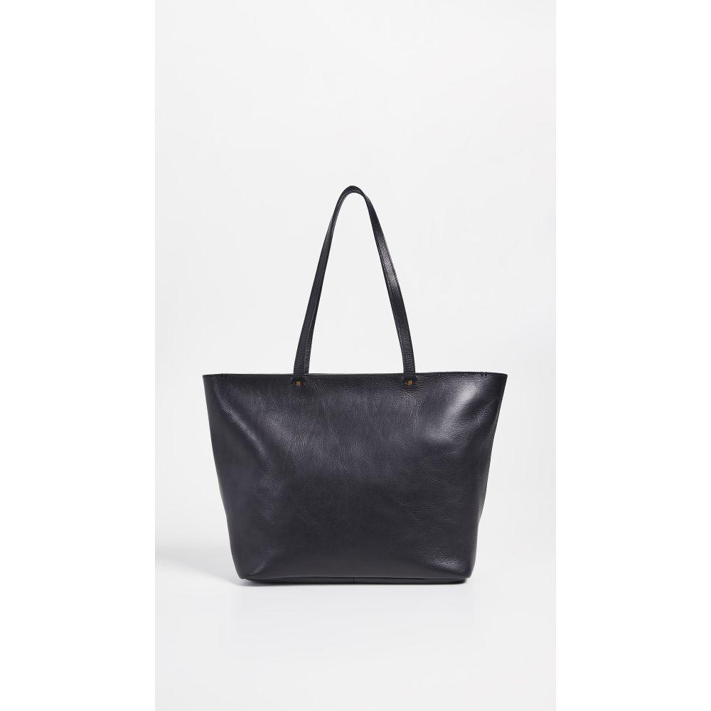 メイドウェル Madewell レディース バッグ トートバッグ【The Abroad Tote Bag】True Black
