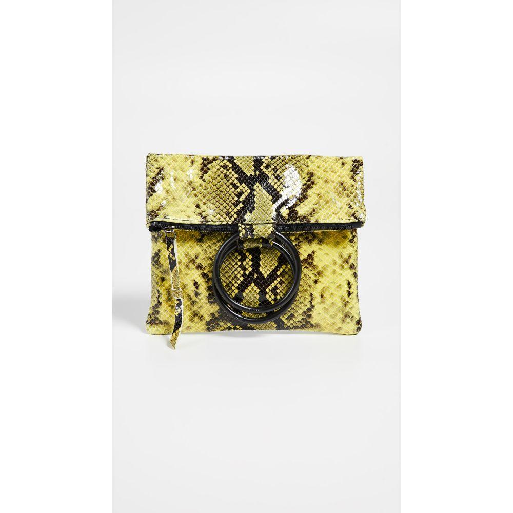 オリベベ Oliveve レディース バッグ【Laine Ring Bag】Lime Snake