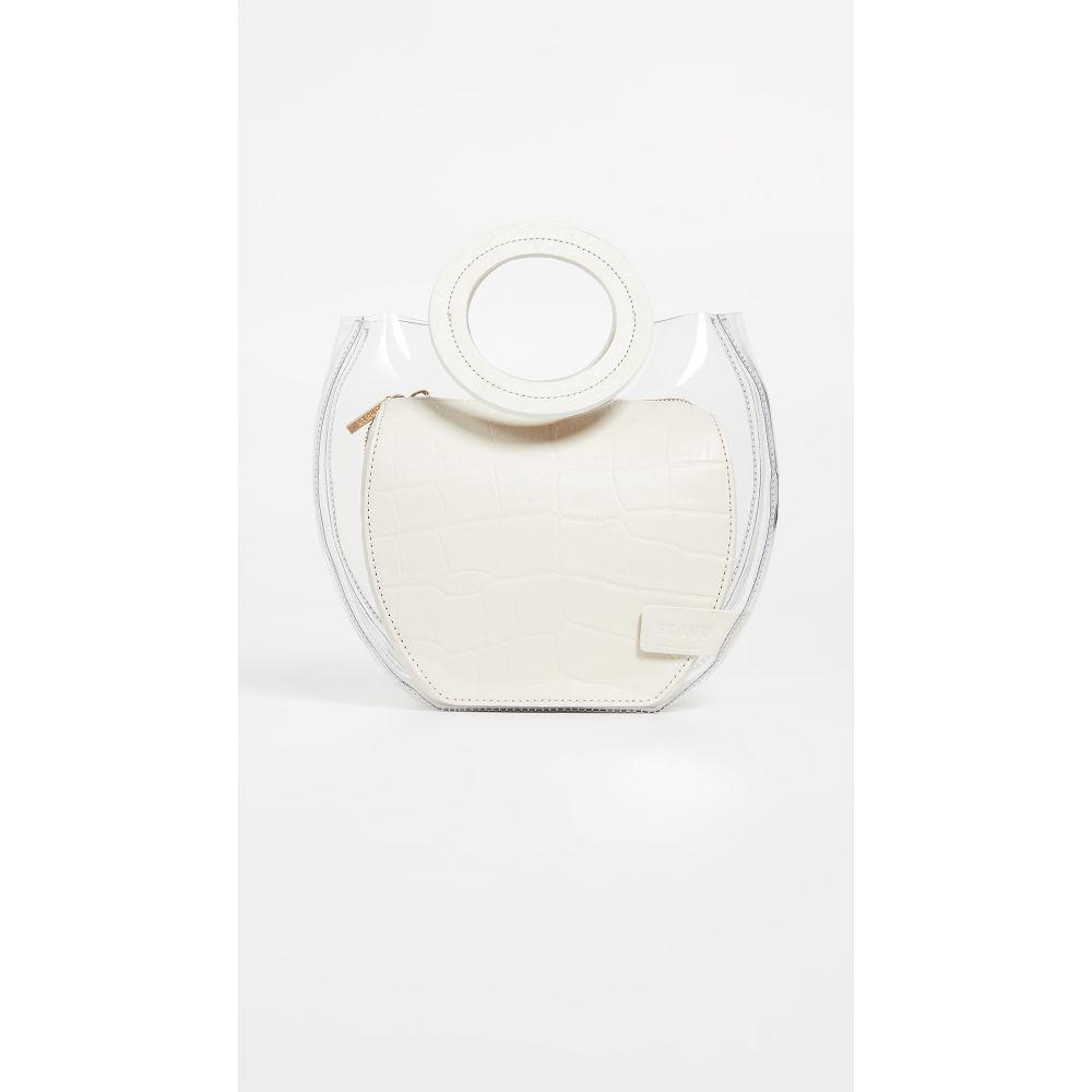 スタッド STAUD レディース バッグ【Frida Bag】Clear/Cream