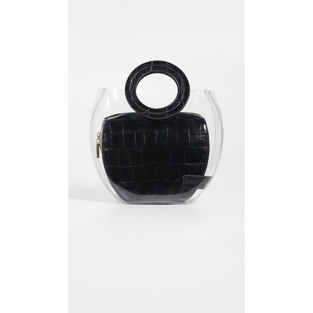 スタッド STAUD レディース バッグ【Frida Bag】Clear/Black