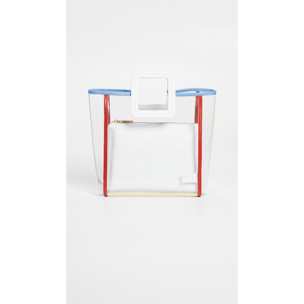 スタッド STAUD レディース バッグ【Framed Shirley Bag】Clear/White/Multi