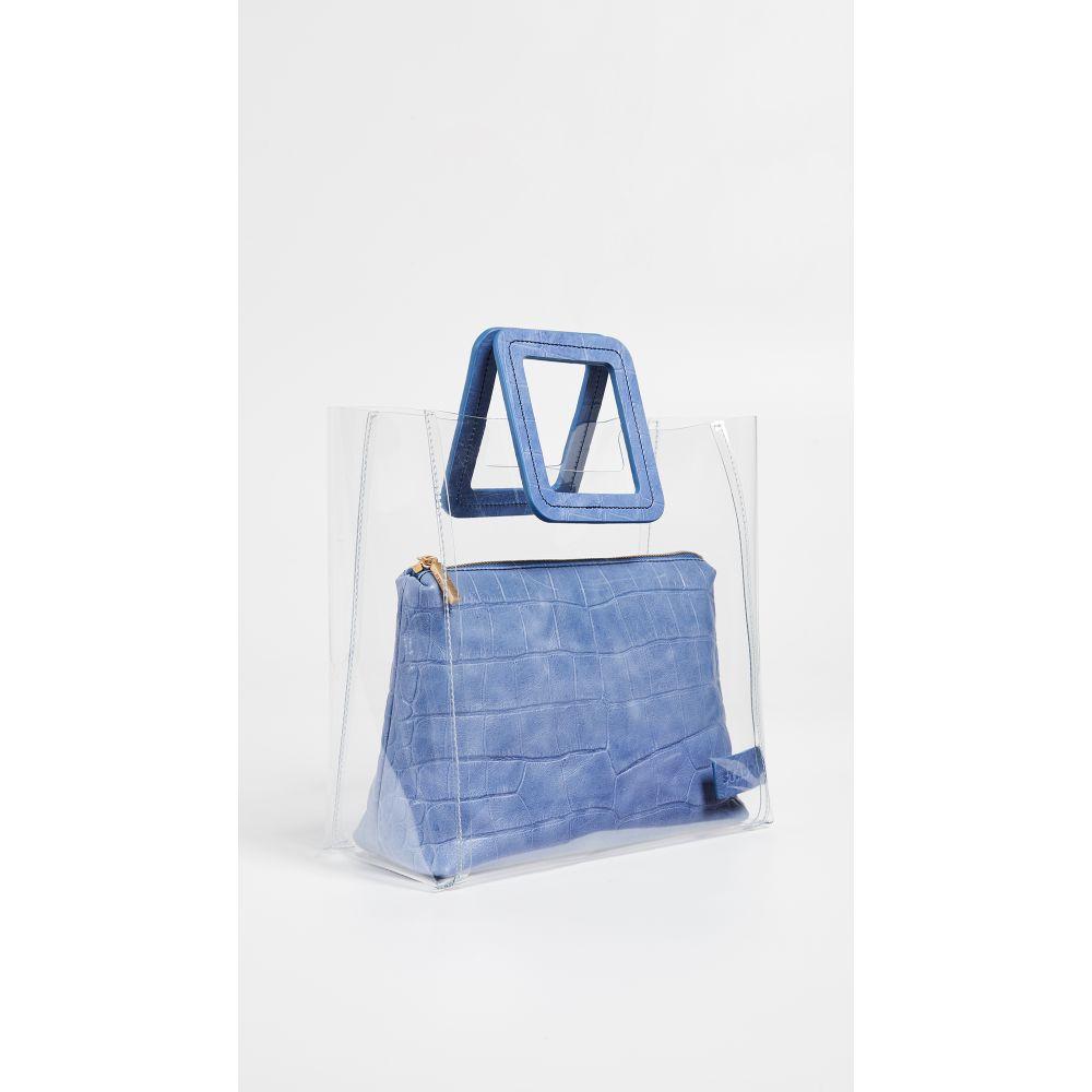 スタッド STAUD レディース バッグ【Shirley Bag】Clear/Coastal Blue