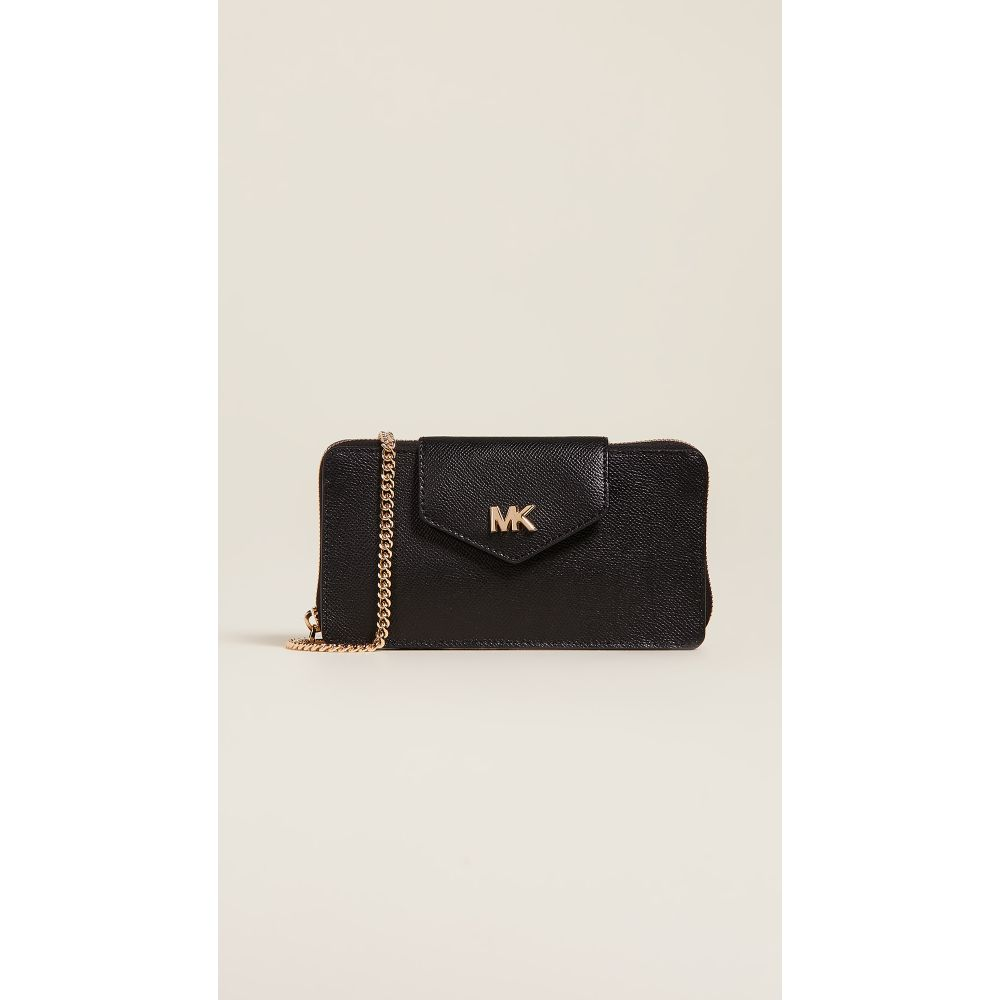 マイケル コース MICHAEL Michael Kors レディース スマホケース【Small Convertible Phone Crossbody Bag】Black