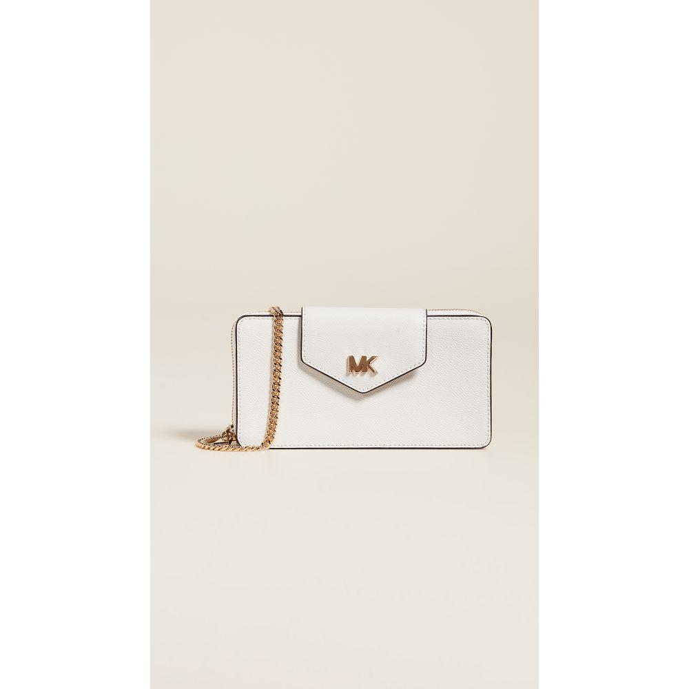 マイケル コース MICHAEL Michael Kors レディース スマホケース【Small Convertible Phone Crossbody Bag】Optic White