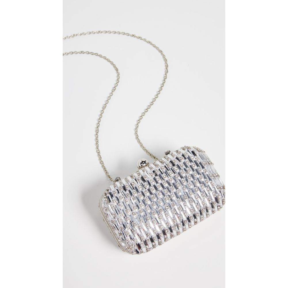 サンティ サンティ Santi レディース バッグ レディース クラッチバッグ【Metallic バッグ Clutch】Silver, 入沢土産店:7dafb2d7 --- reinhekla.no
