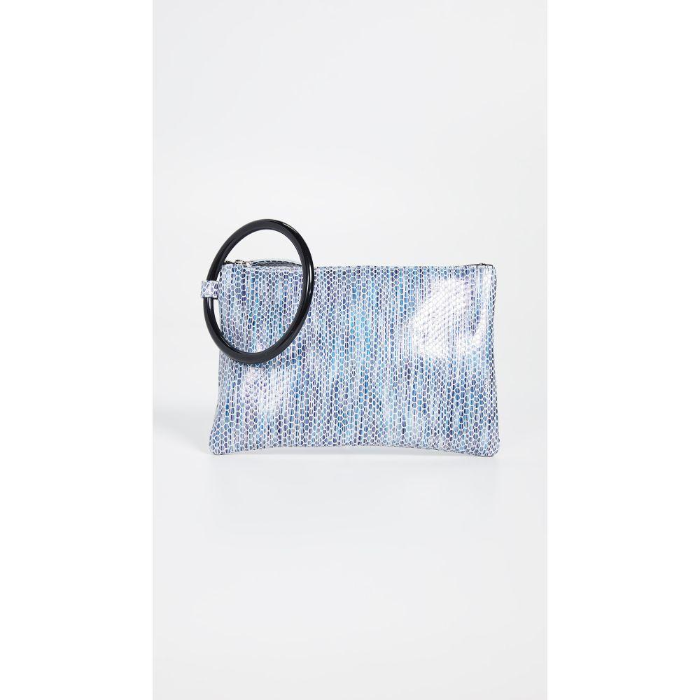 オリベベ Oliveve レディース バッグ Snake クラッチバッグ Clutch】Blue【Murphy オリベベ Bracelet Clutch】Blue Stripe Snake, ソレイユ:480d3517 --- reinhekla.no