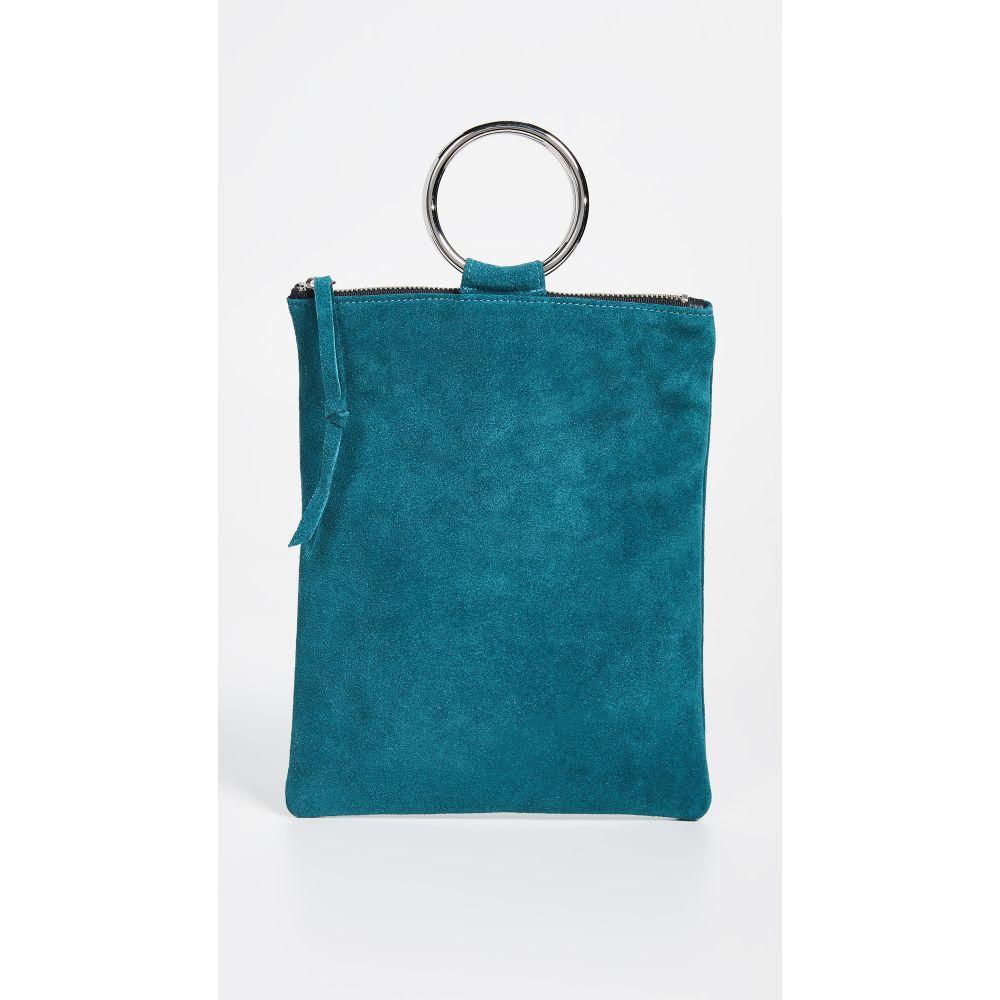 オリベベ Oliveve オリベベ レディース Oliveve バッグ クラッチバッグ【Laine Ring Ring Bag】Teal, ink77:6f3470f6 --- sunward.msk.ru