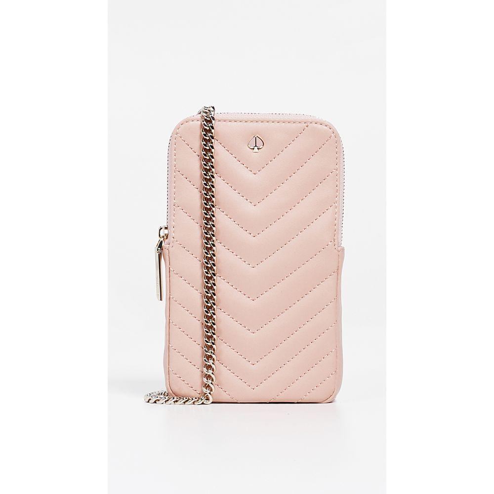 ケイト スペード Kate Spade New York レディース スマホケース【Amelia North South Phone Crossbody Bag】Flapper Pink