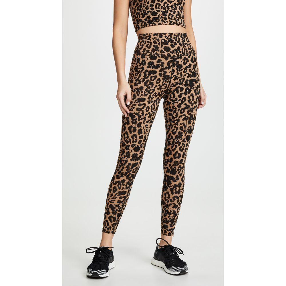 エルエヌエー LNA レディース インナー・下着 スパッツ・レギンス【Leopard Zipper Leggings】Leopard