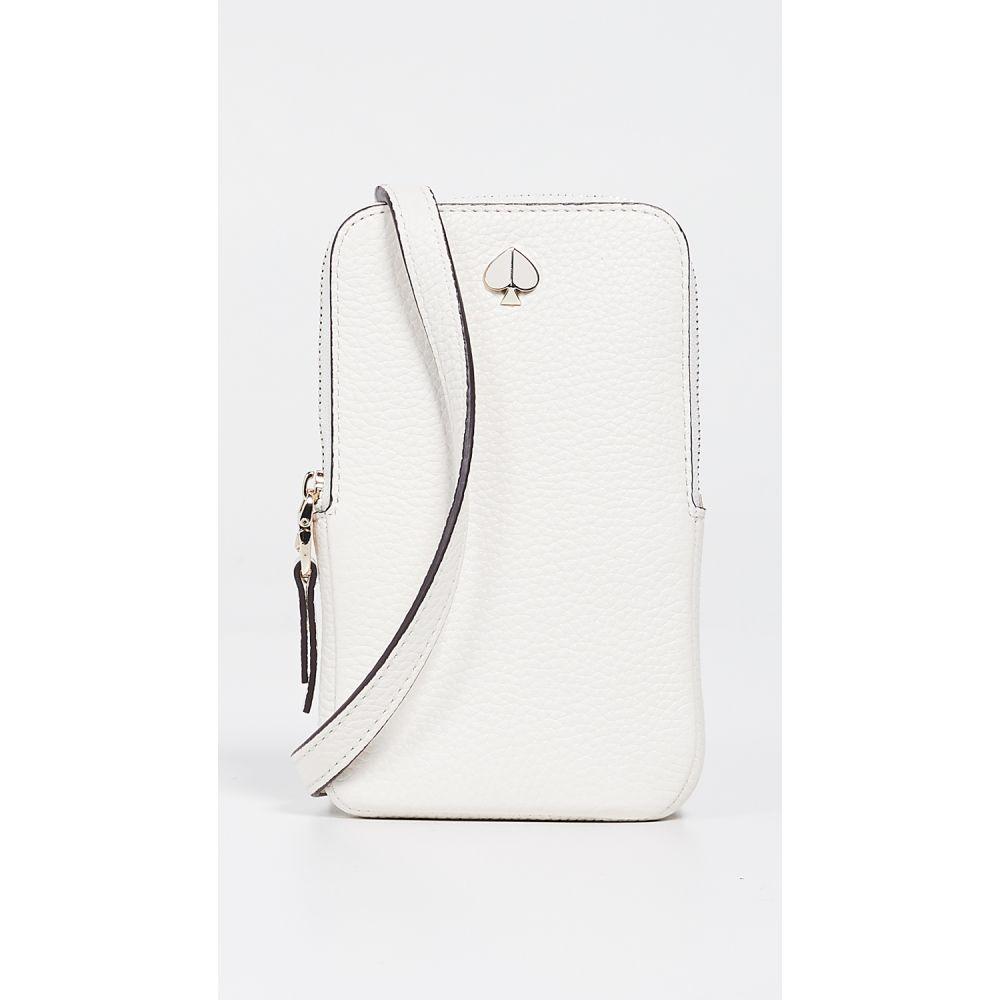 ケイト スペード Kate Spade New York レディース スマホケース【Polly North South Phone Crossbody Bag】Parchment