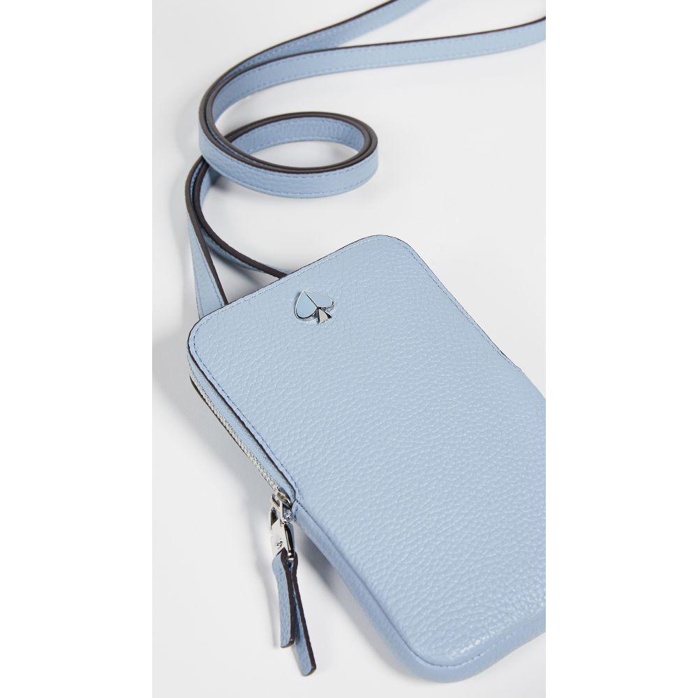 ケイト スペード Kate Spade New York レディース スマホケース【Polly North South Phone Crossbody Bag】Horizon Blue
