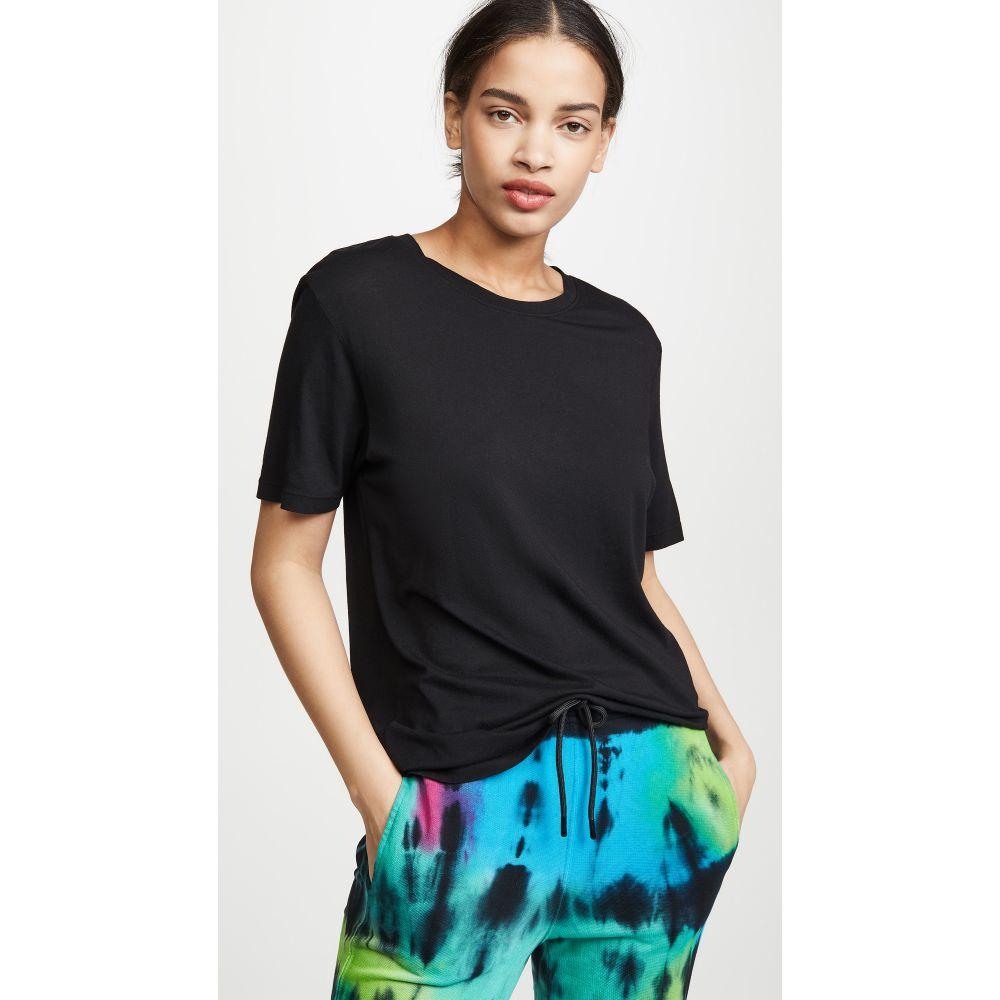 コットンシチズン Cotton Citizen レディース トップス Tシャツ【Sydney T-Shirt】Jet Black