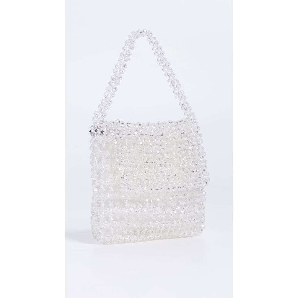 サム エデルマン Sam Edelman レディース バッグ【Violet Acrylic Beaded Bag】Clear