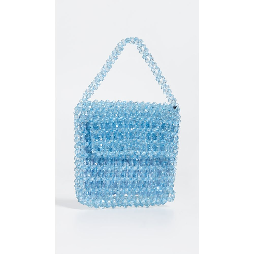 サム エデルマン Sam Edelman レディース バッグ【Violet Acrylic Beaded Bag】Light Blue