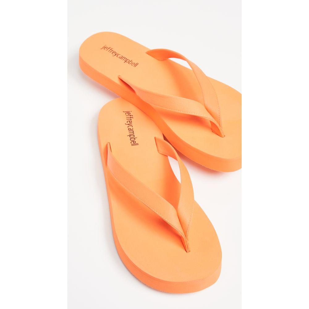 ジェフリー キャンベル Jeffrey Campbell レディース シューズ・靴 ビーチサンダル【Surfin Flip Flops】Orange Neon