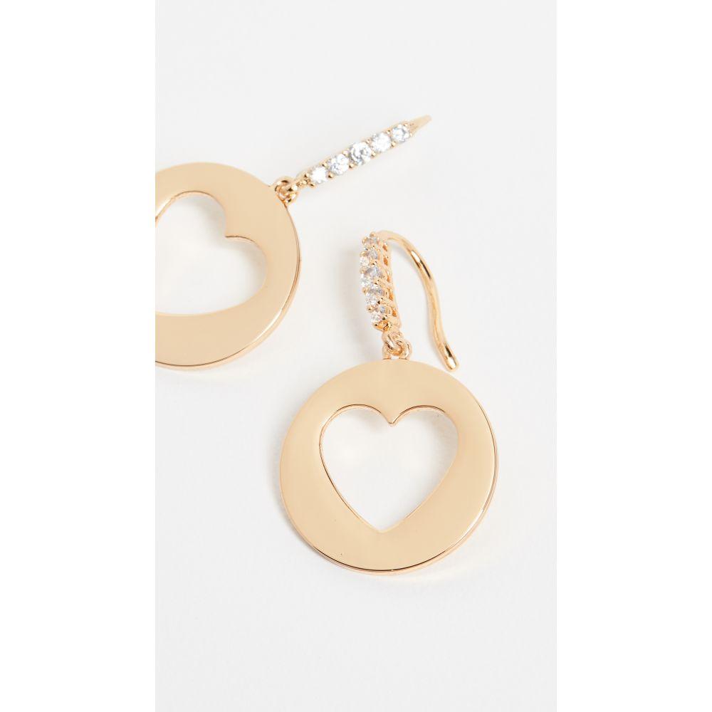 ケイト スペード Kate Spade New York レディース ジュエリー・アクセサリー イヤリング・ピアス【Symbols Heart Drop Earrings】Gold, 三川村 5486e3f4