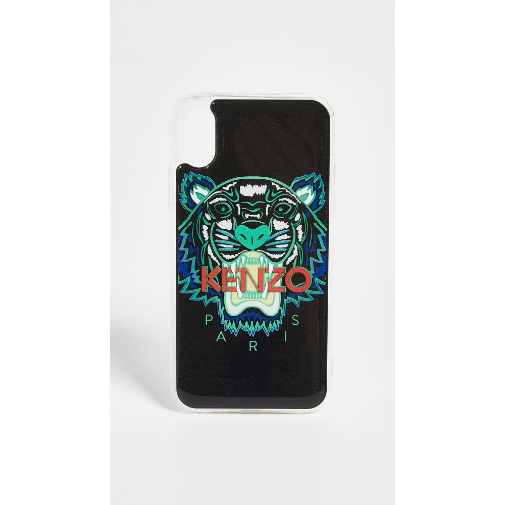ケンゾー KENZO レディース iPhone (X)ケース【Coque iPhone X / iPhone XS Tiger Head Case】Black