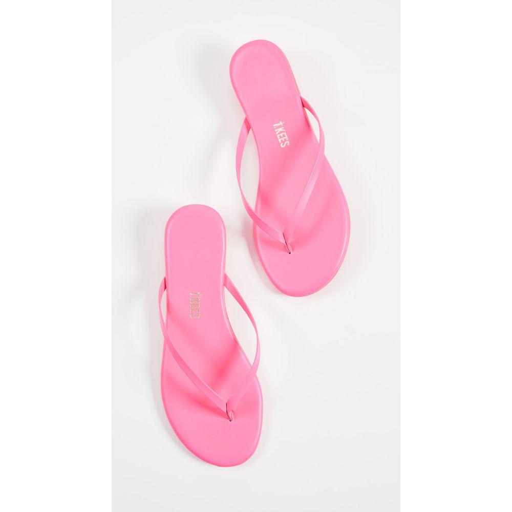ティキーズ TKEES レディース シューズ・靴 ビーチサンダル【Lily Neon Flip Flops】Neon Pink