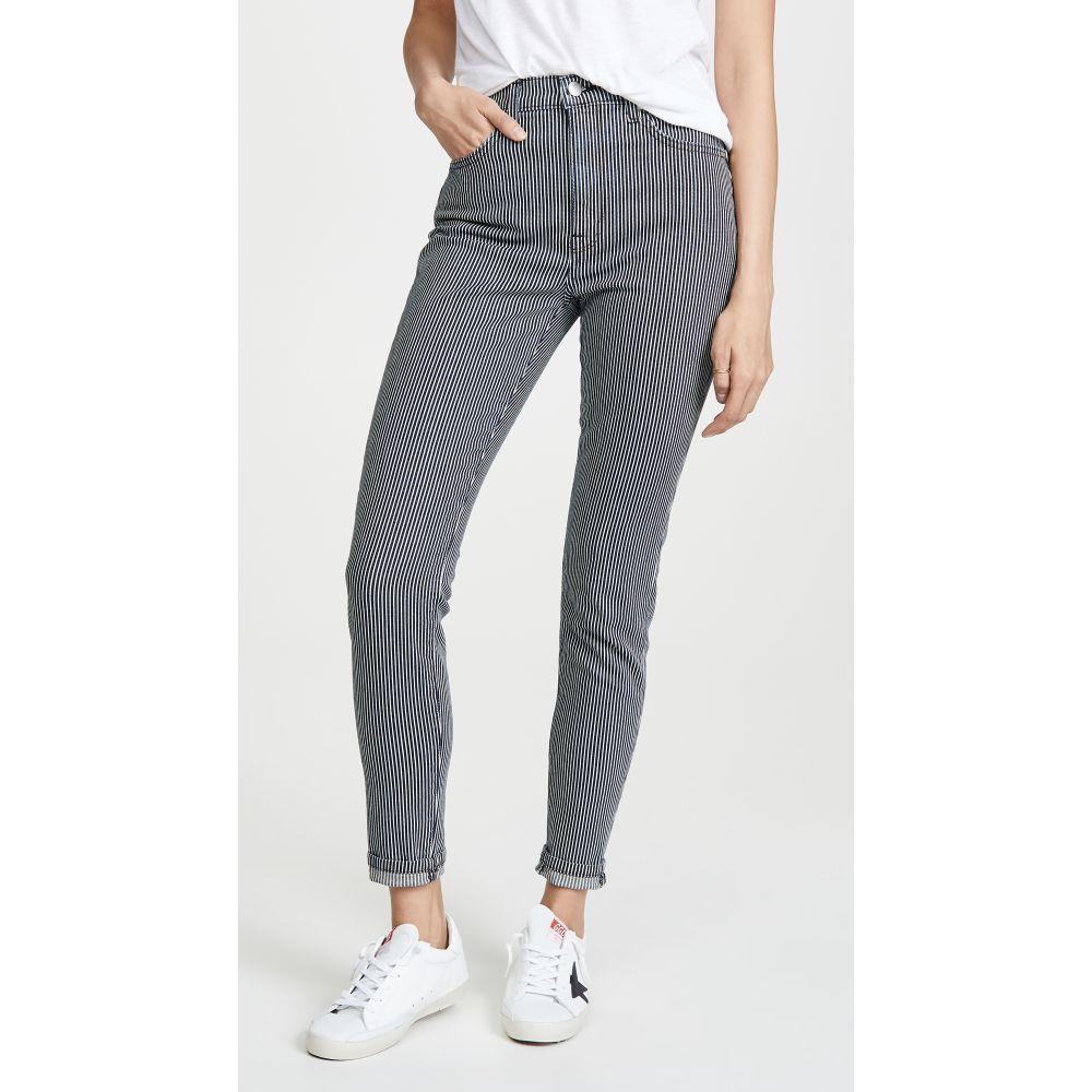 ボールドウィン BLDWN レディース ボトムス・パンツ ジーンズ・デニム【Ultra High Rise Skinny Jeans】Navy/Optic White