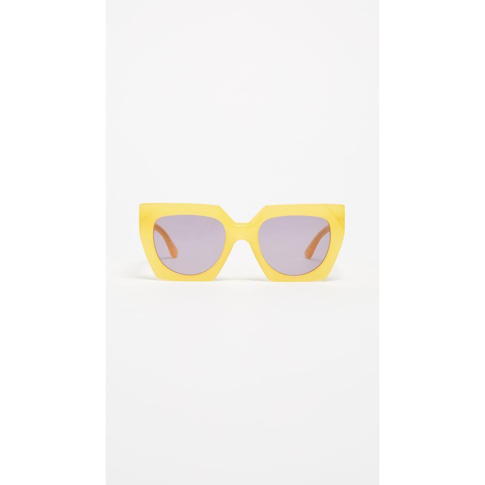 ガニー GANNI レディース メガネ・サングラス【Double Layered Sunglasses】Minion Yellow