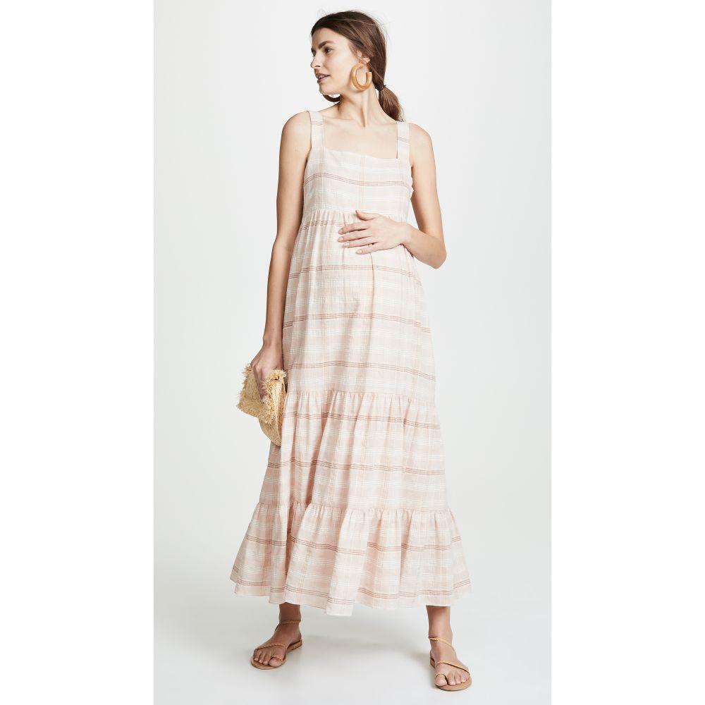 ハッチ HATCH レディース ワンピース・ドレス ワンピース【The Jules Dress】Blush Plaid
