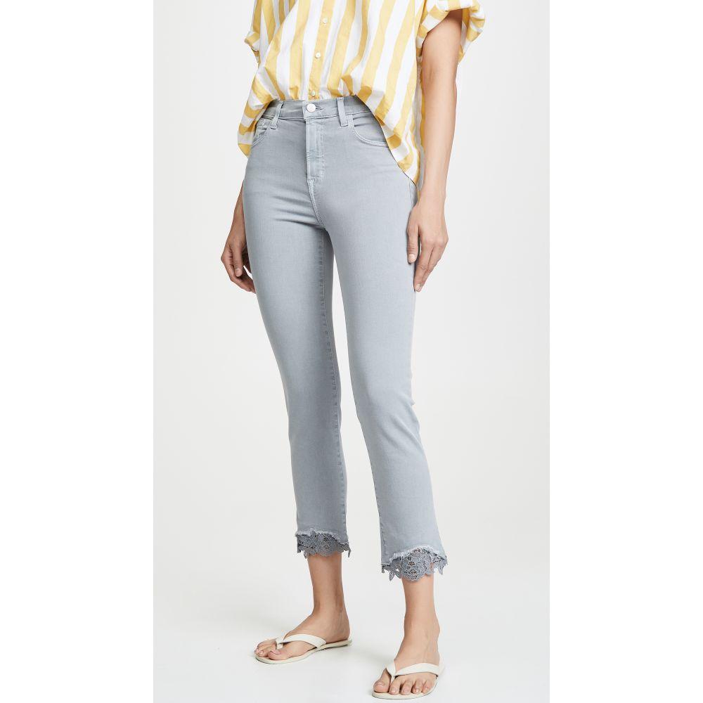 ジェイ ブランド J Brand レディース ボトムス・パンツ ジーンズ・デニム【Ruby High Rise Crop Cigarette Jeans】Georgetown Lace
