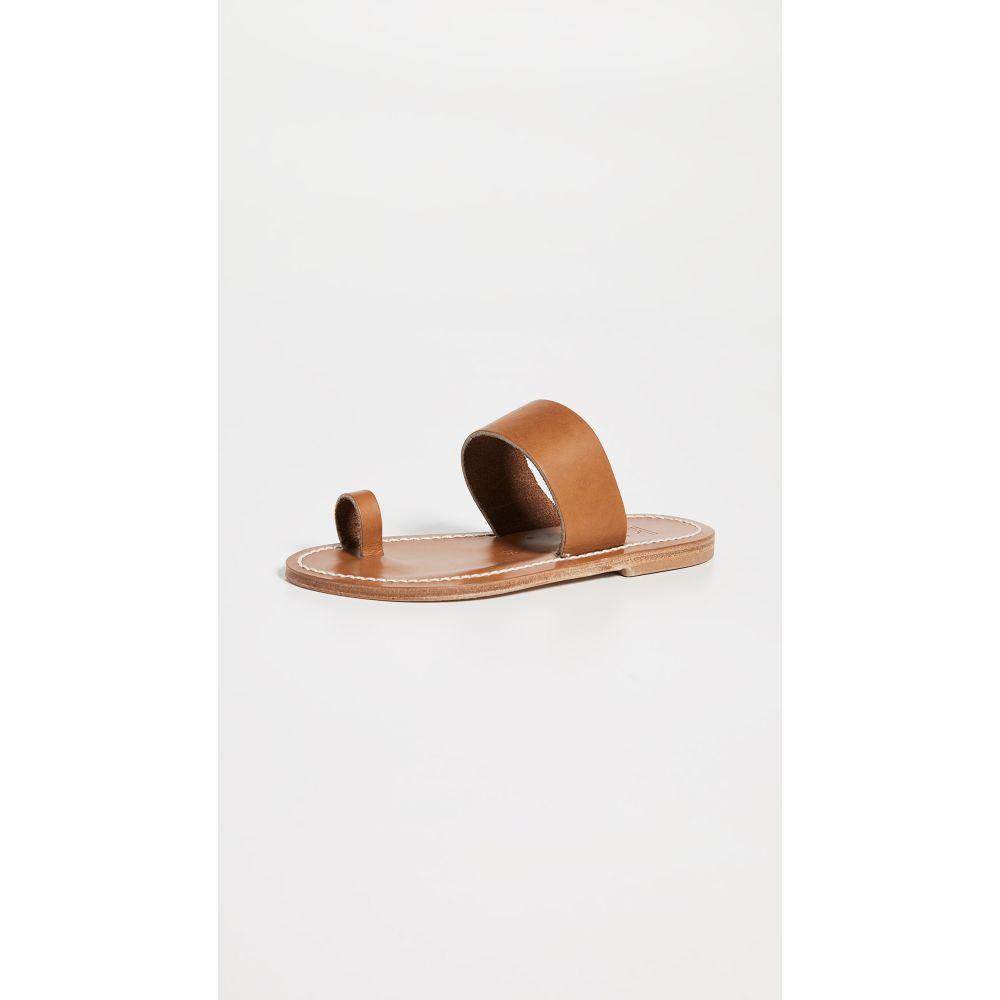 カー ジャック K. Jacques レディース シューズ・靴 サンダル・ミュール【Nagoya Toe Ring Slide Sandals】Pul Natural