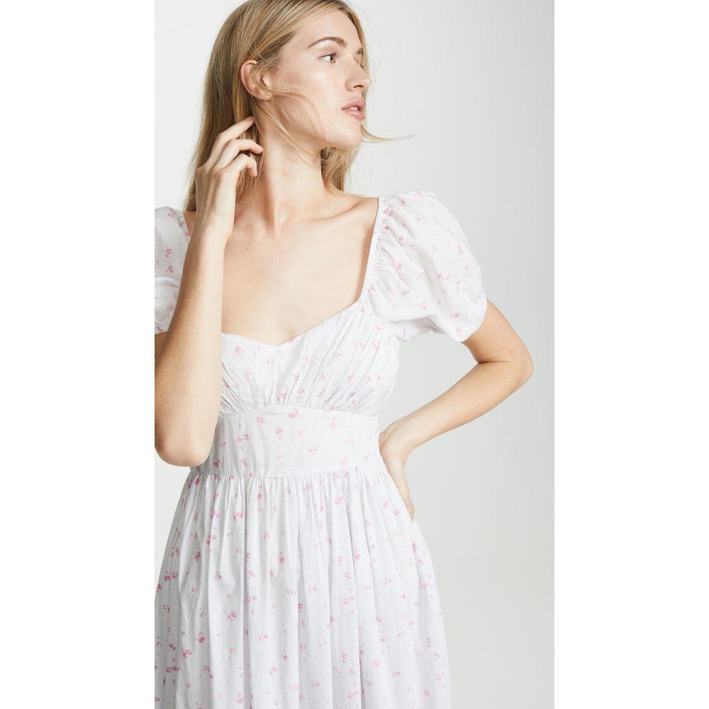 ラブシャックファンシー LOVESHACKFANCY レディース ワンピース・ドレス ワンピース【Angie Dress】Brimfield Grey