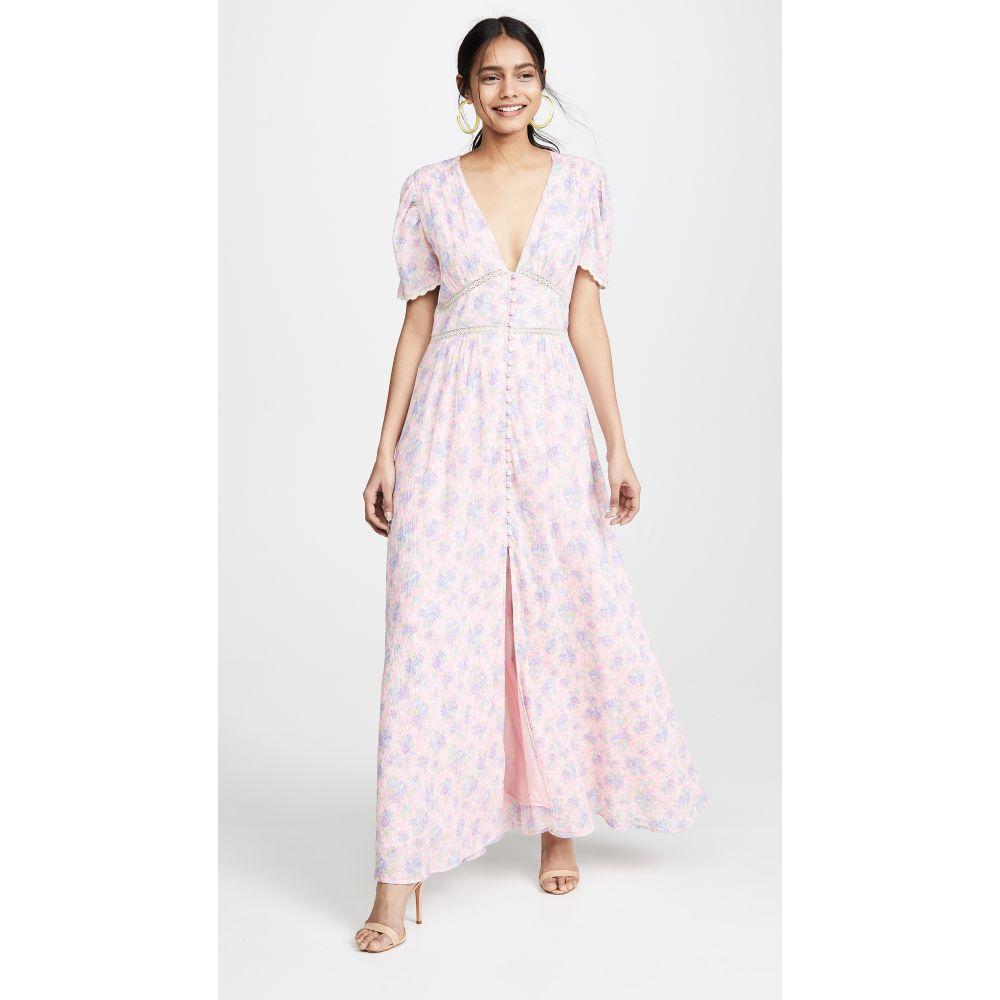 ラブシャックファンシー LOVESHACKFANCY レディース ワンピース・ドレス ワンピース【Stacy Duster】Pink Garden