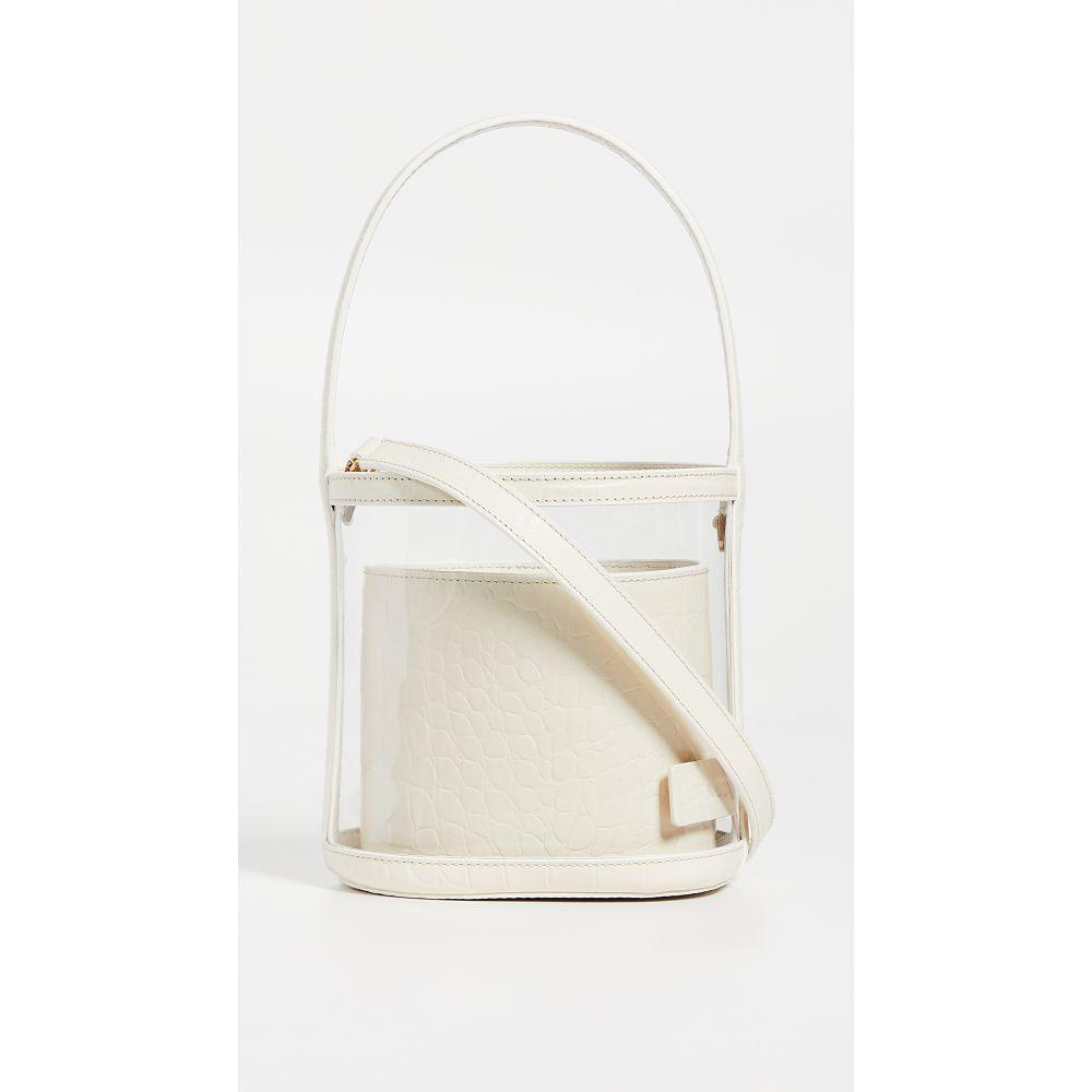 スタッド STAUD レディース バッグ【Clear Bissett Bag】Clear/Cream