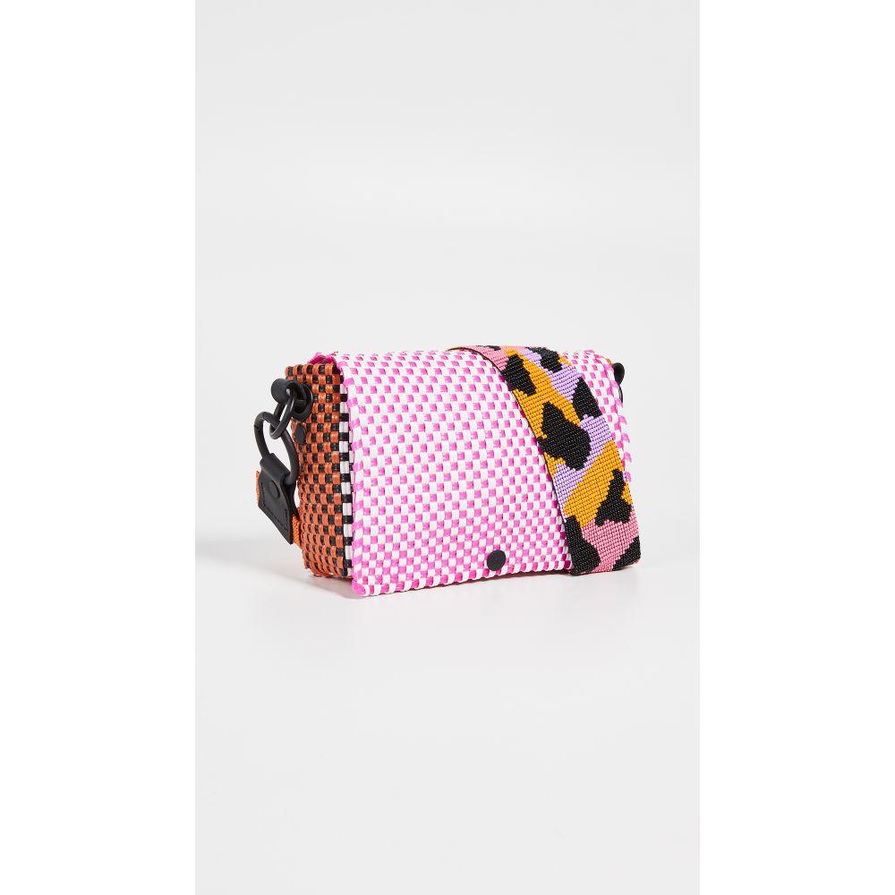 トラス Truss レディース バッグ【Bead Strap Baguette Bag】Pink/Orange