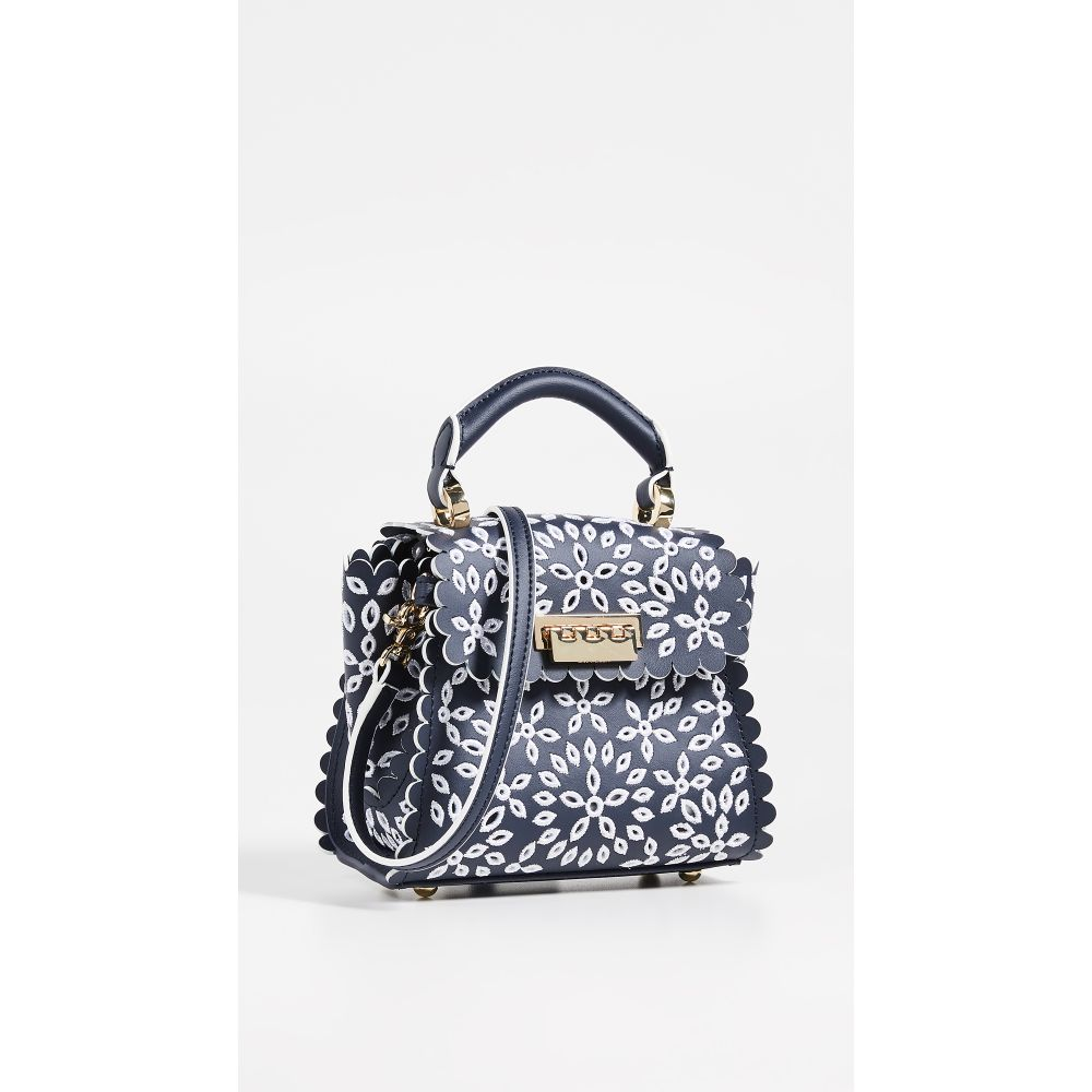 ザック ポーゼン Crossbody】Cloud ZAC Zac Posen Top レディース Eyelet バッグ ハンドバッグ【Eartha Mini Eyelet Top Handle Crossbody】Cloud Eyelet, ライト精機:cb0a5c27 --- sunward.msk.ru
