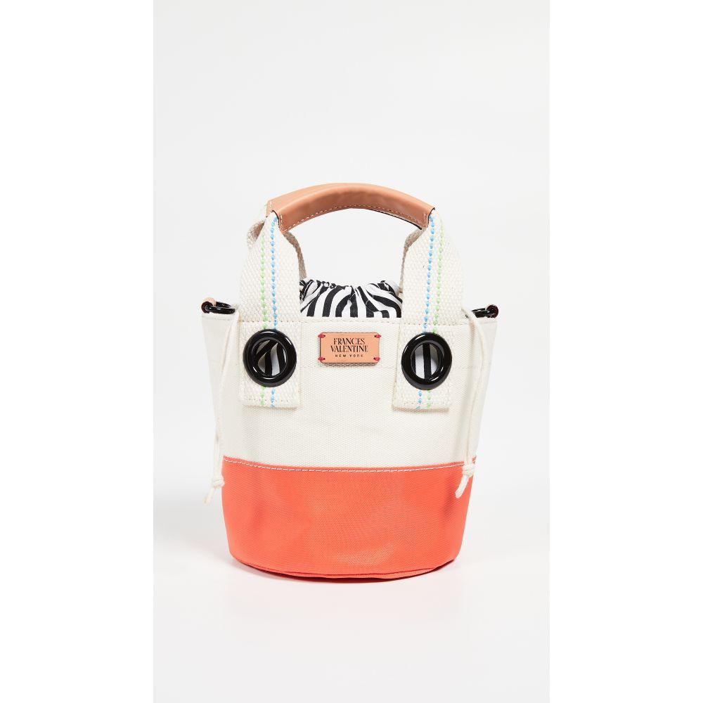 フランシス ヴァレンタイン Frances Valentine レディース バッグ【Small Bucket Bag】Natural/Orange