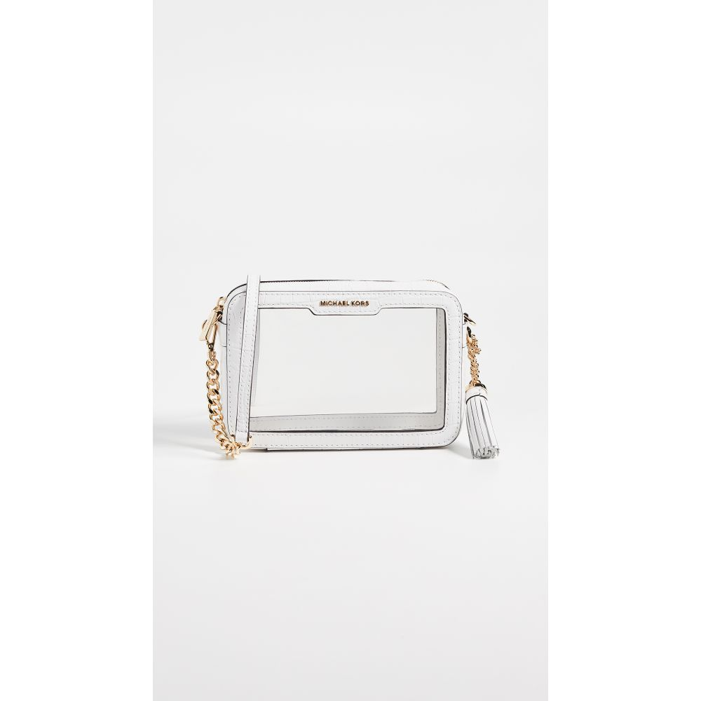 マイケル コース MICHAEL Michael Kors レディース バッグ【Medium Camera Bag】Optic White