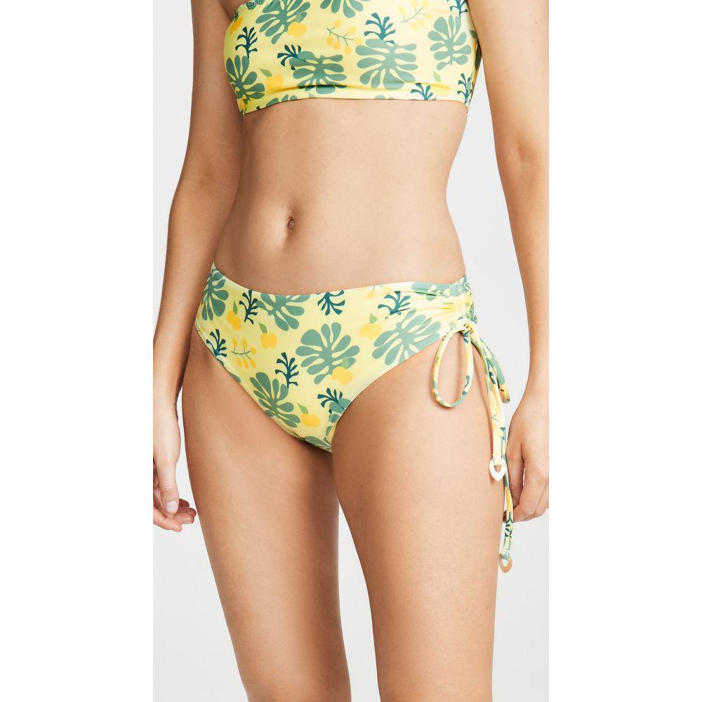 パーム Palm レディース 水着・ビーチウェア ボトムのみ【Isla Bikini Bottoms】Yellow Palm