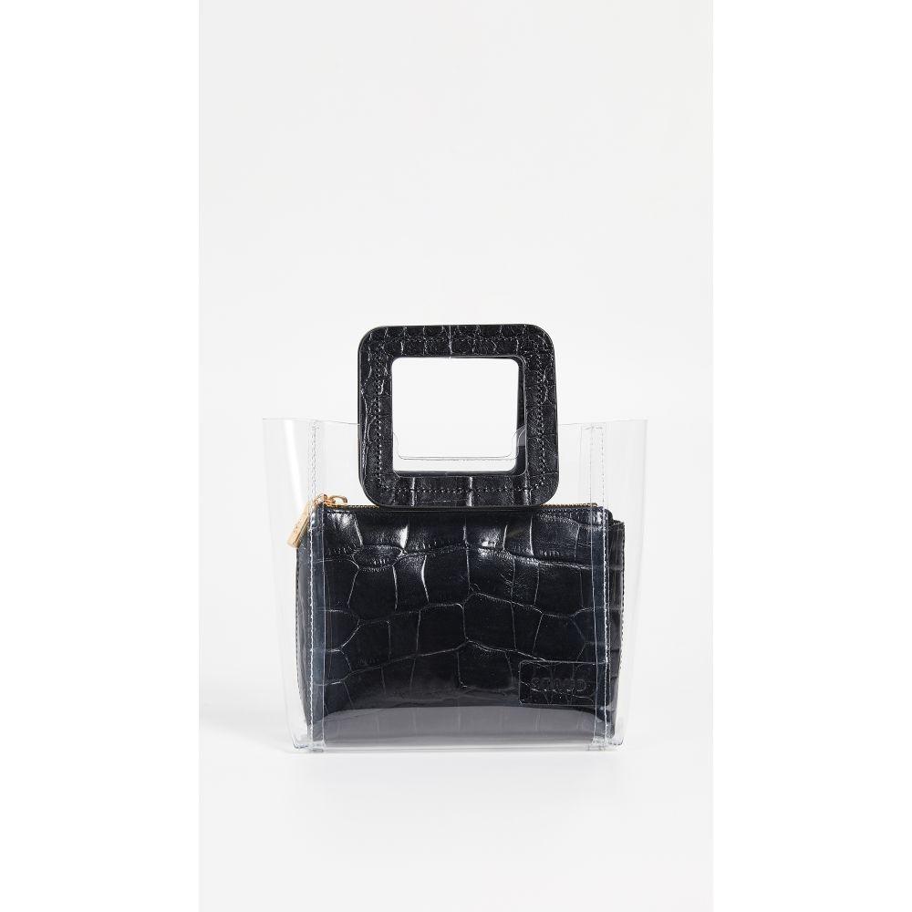 スタッド STAUD レディース バッグ【Mini Shirley Bag】Clear/Black