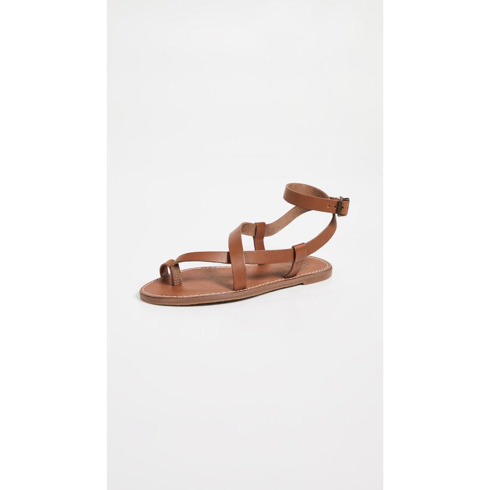 メイドウェル Madewell レディース シューズ・靴 サンダル・ミュール【The Boardwalk Bare Sandals】English Saddle