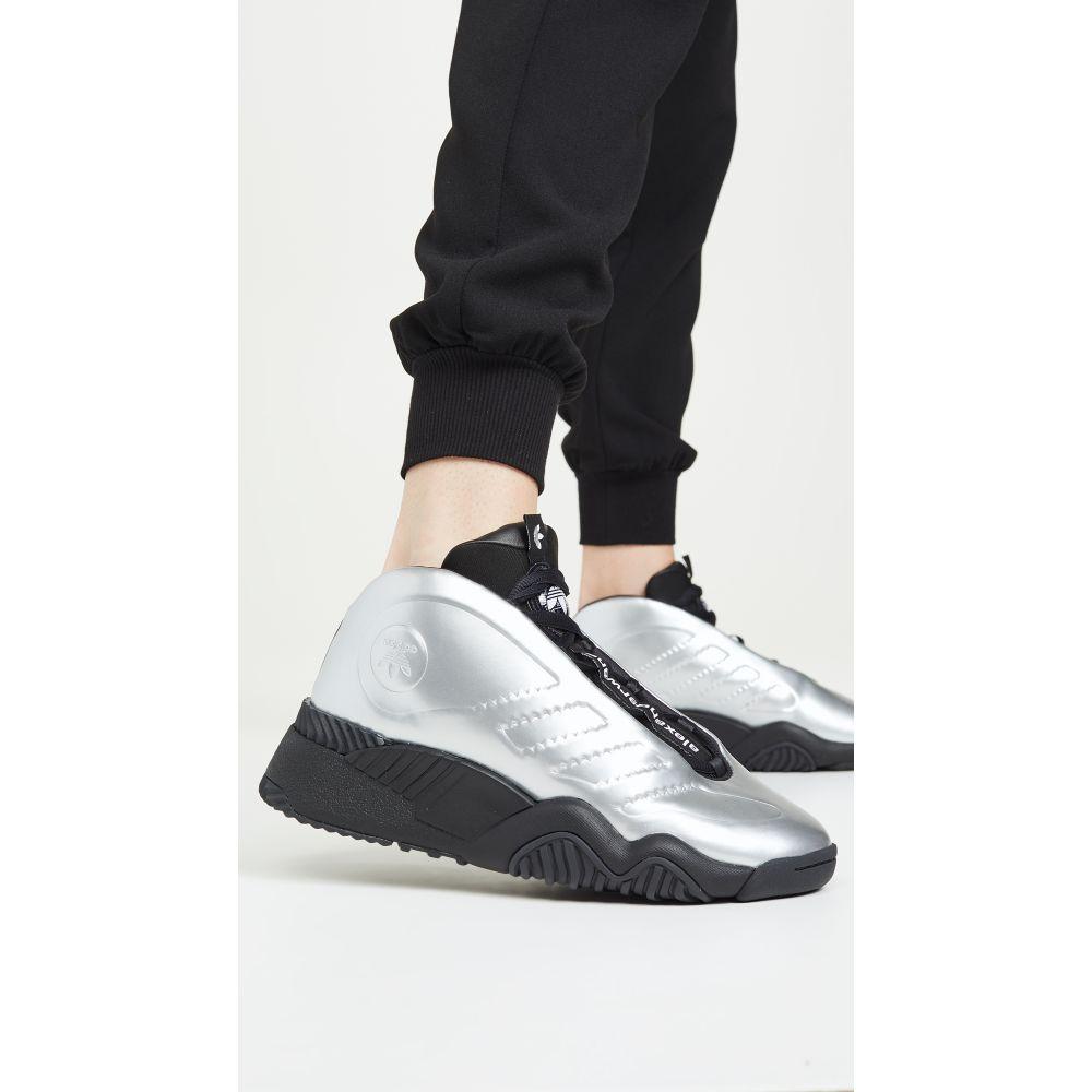 アディダス adidas Originals by Alexander Wang レディース シューズ・靴 スニーカー【AW Futureshell Sneakers】Platin Met/Core Black