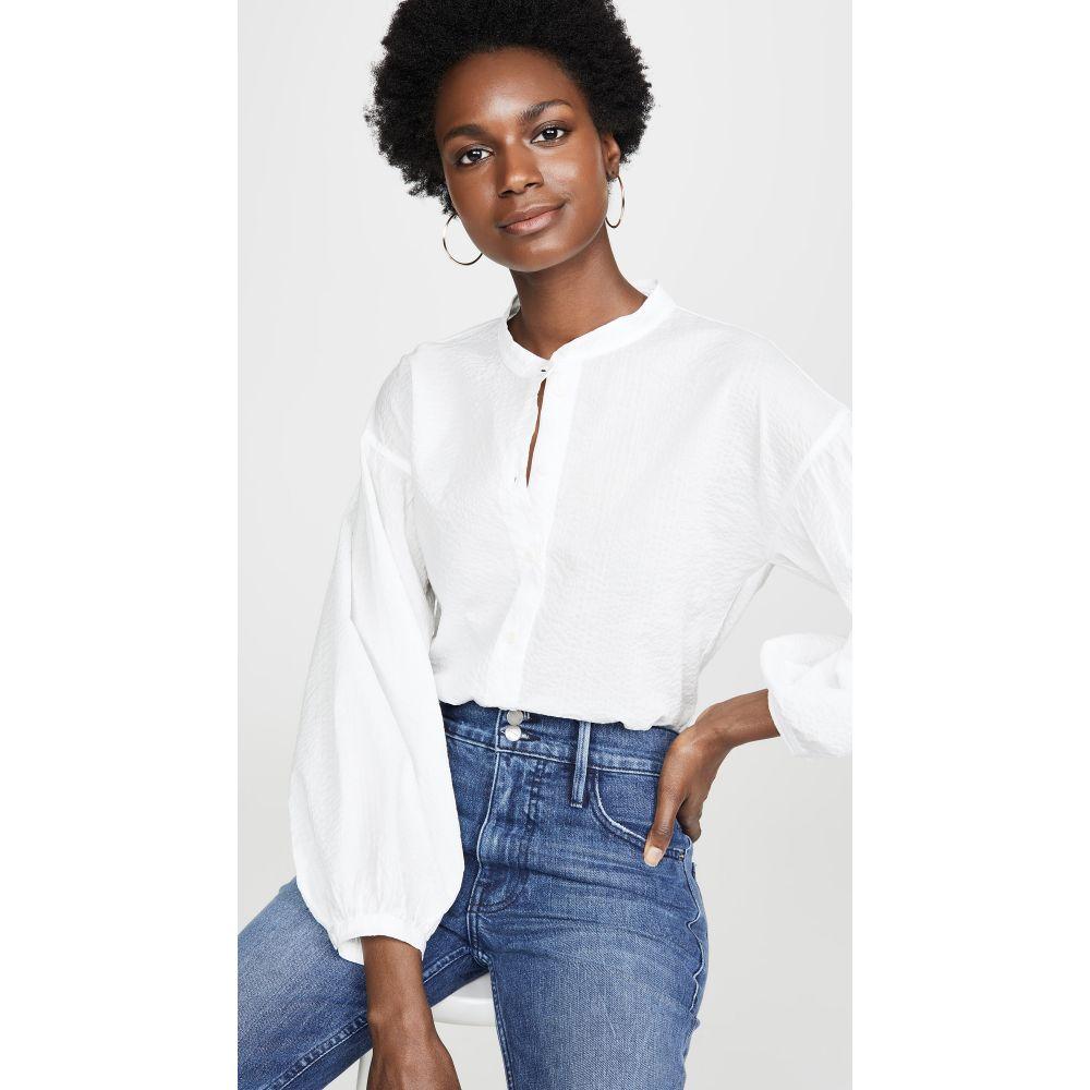エムアイエイチ M.i.h Jeans レディース トップス ブラウス・シャツ【Colt Shirt】White