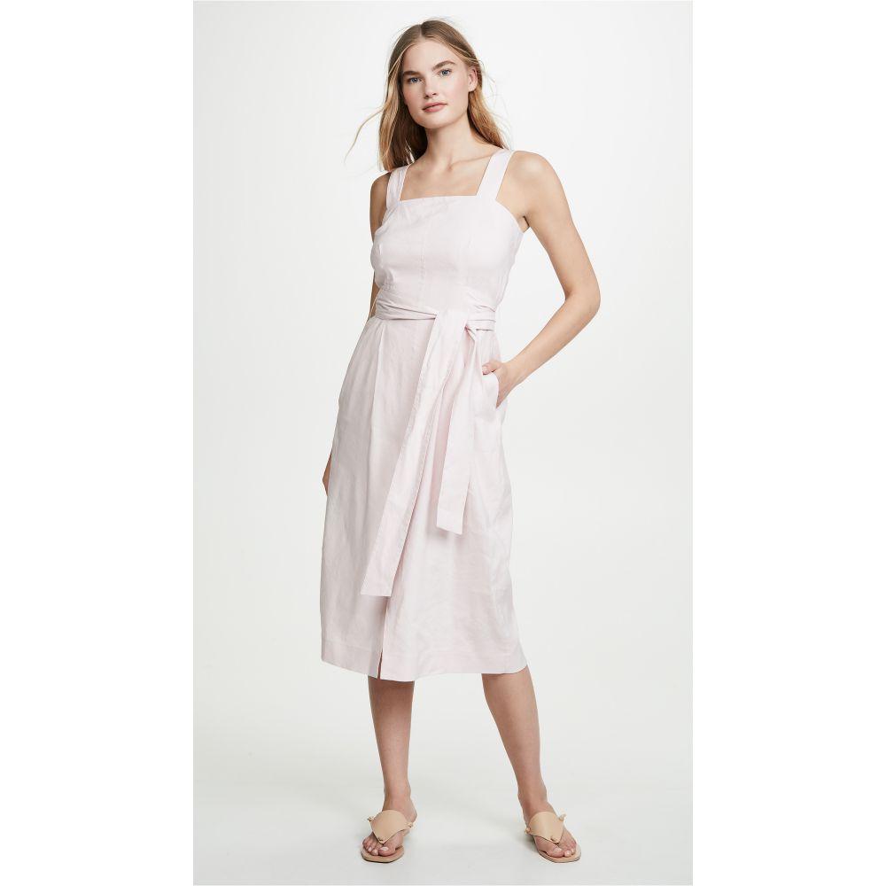 ヴィンス Vince レディース ワンピース・ドレス ワンピース【Belted Wide Strap Dress】Rosa Secco