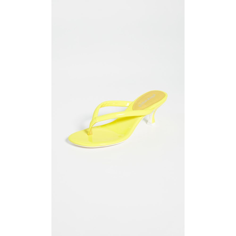 ジェフリー キャンベル Jeffrey Campbell レディース シューズ・靴 サンダル・ミュール【Brink 2 Thong Sandals】Neon Yellow