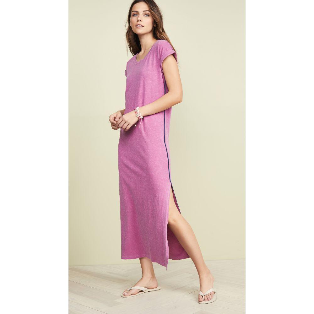サンドリー SUNDRY レディース ワンピース・ドレス ワンピース【Maxi Dress with Side Trim】Pigment Magenta