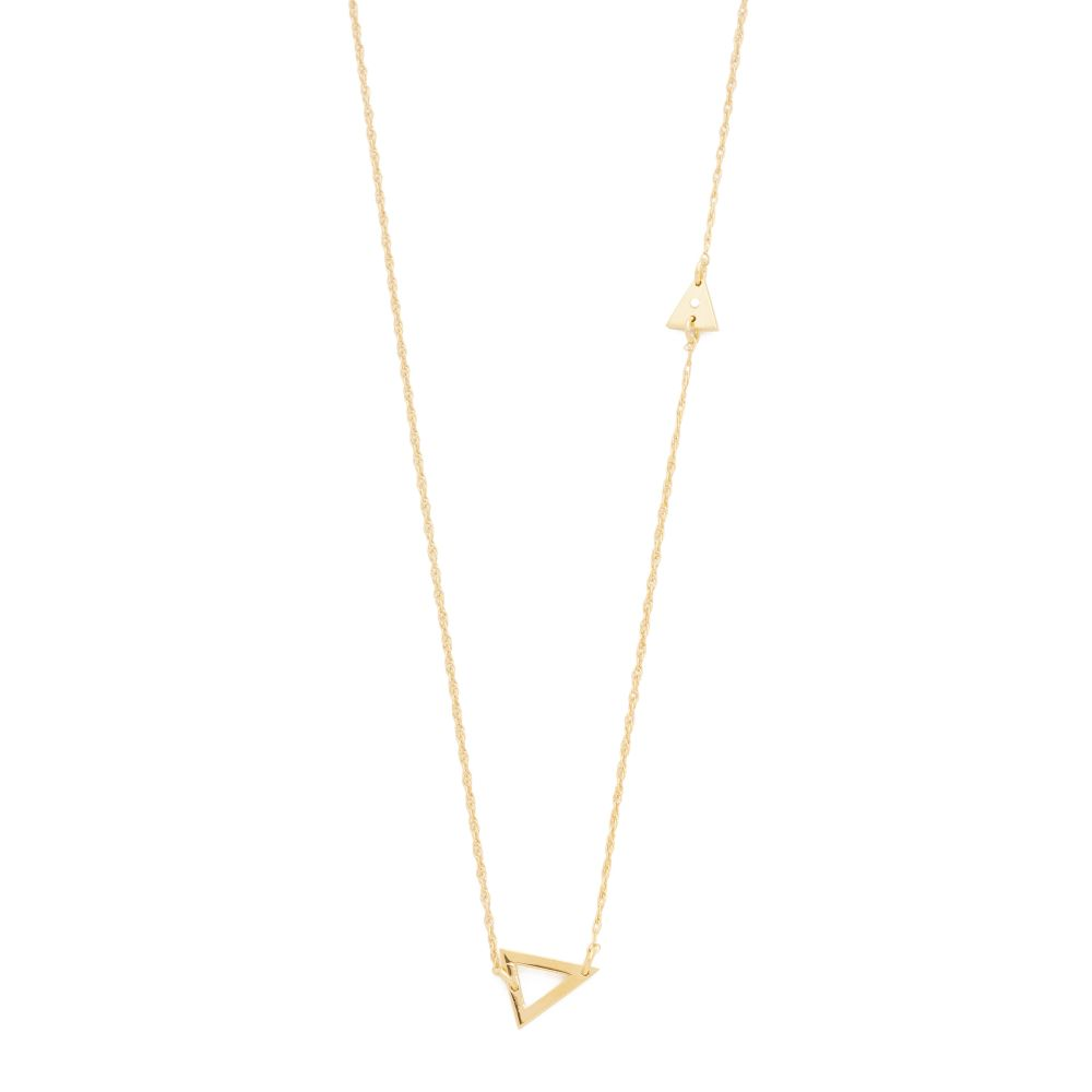 ジェニファーズーナー Jennifer Zeuner Jewelry レディース ジュエリー・アクセサリー ネックレス【Sasha Diamond Necklace】Gold