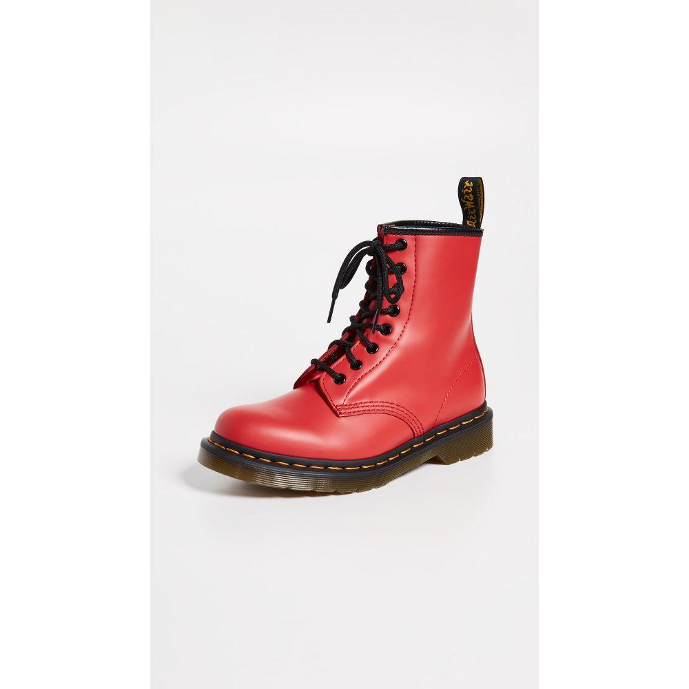 ドクターマーチン Dr. Martens レディース シューズ・靴 ブーツ【1460 8 Eye Boots】Stachel Red