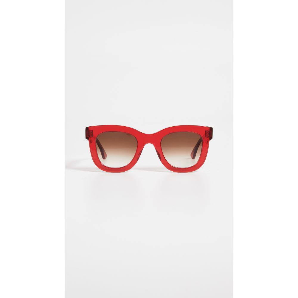 ティエリー ラスリー Thierry Lasry レディース メガネ・サングラス【Gambly 462 Sunglasses】Red/Grey