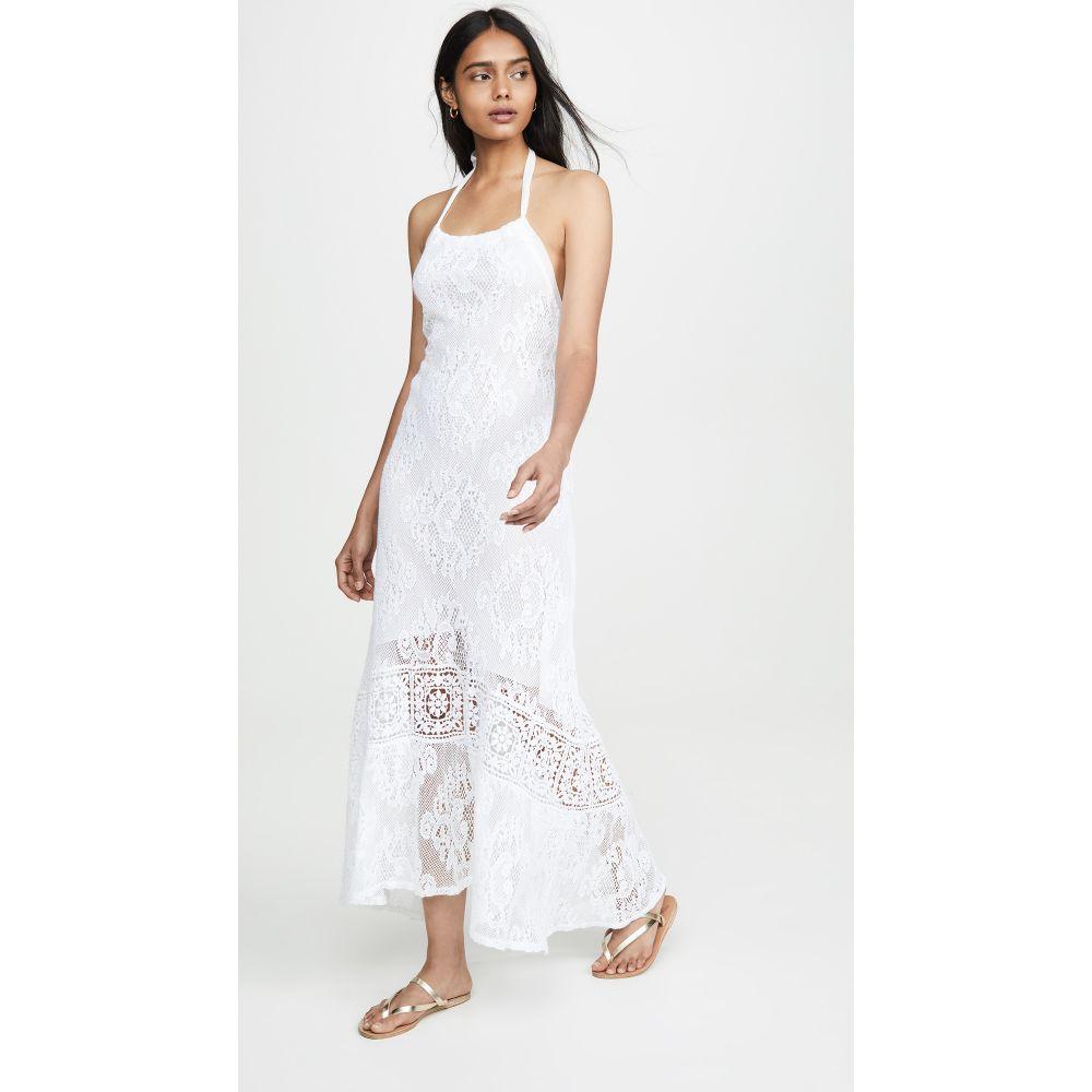 テンプテーション ポシターノ Temptation Positano レディース ワンピース・ドレス ワンピース【Cagliari Halter Dress】White